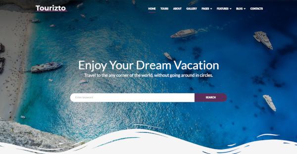 Tourizto Reliable WordPress Theme