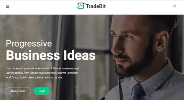 tradebit – responsive wordpress theme