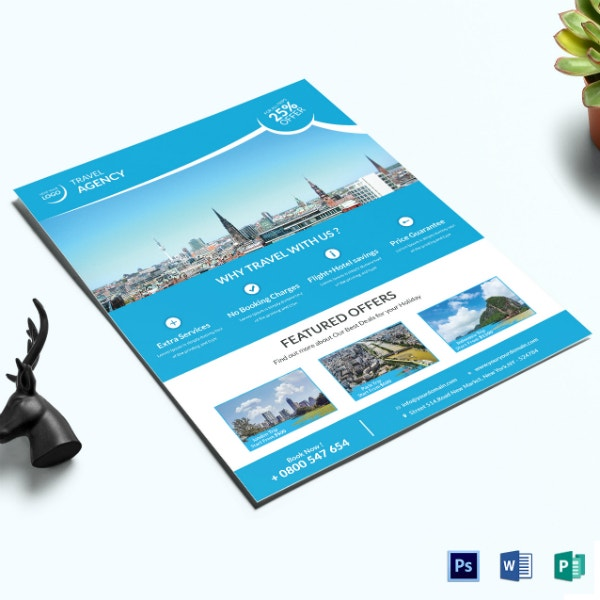 travel agency corporate flyer format