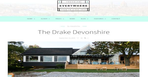 Travel Everywhere Responsive WordPress Theme