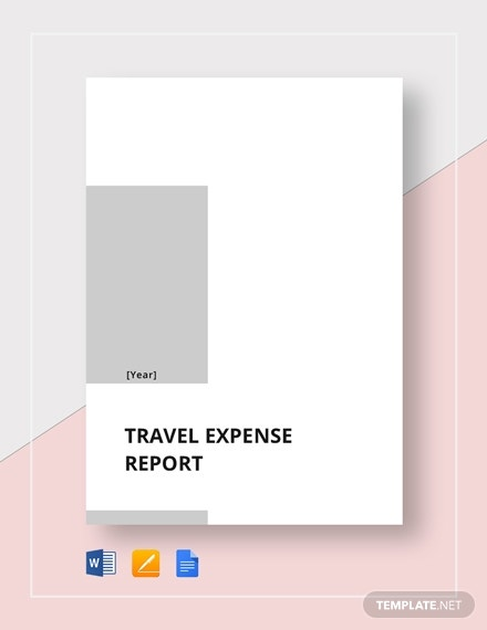 travel expense report 2