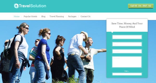 travel solution seo ready wordpress theme