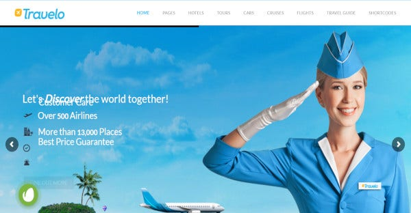 travelo traveltour booking