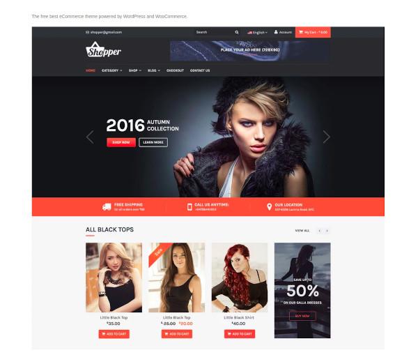 tyche – free ecommerce theme