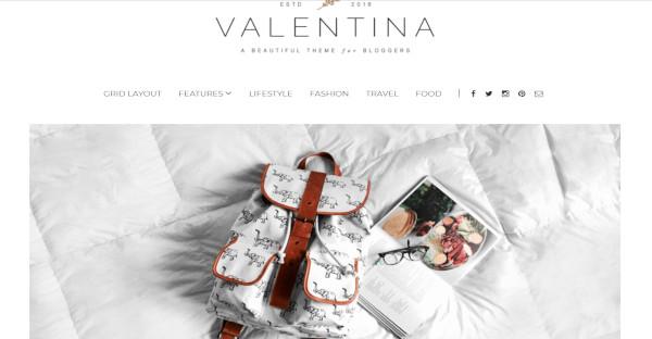Valentina - Highly Customizable WordPress Theme