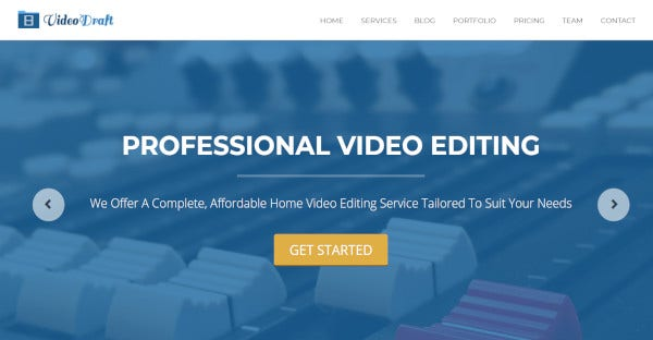 video-draft-responsive-wordpress-theme