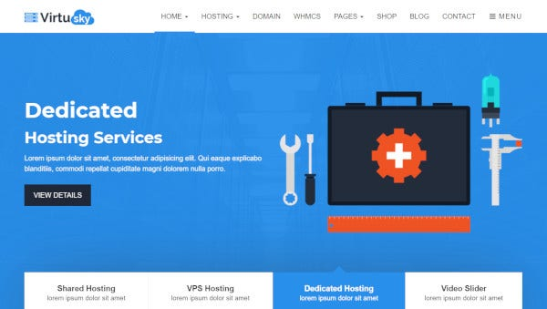 virtusky-bootstrap-framework-wordpress-theme