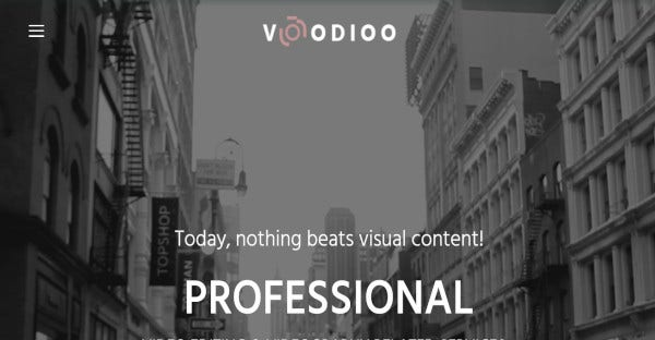 Voodioo - Drag and Drop WordPress Theme