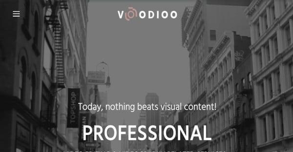voodioo drag and drop wordpress theme