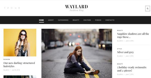 Waylard – 100% Responsive WordPress Theme