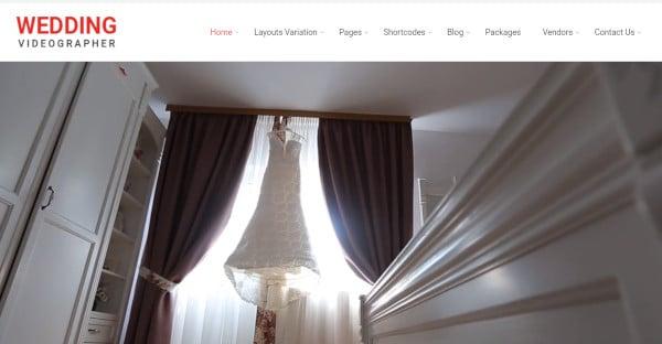 wedding videography – responsive wordpress theme