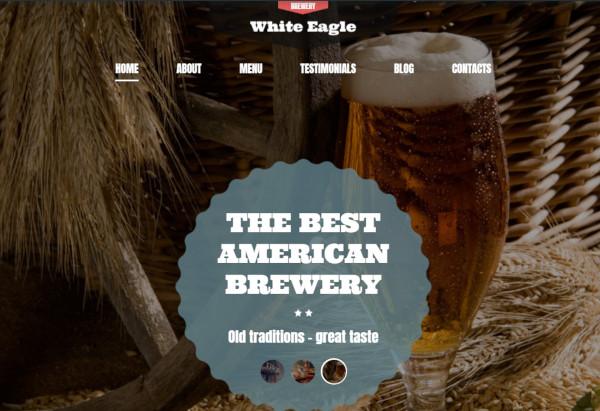 white eagle – responsive wordpress theme