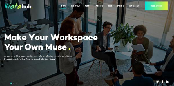 wotahub wpbakery page builder wordpress theme