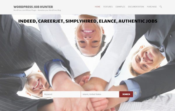 wp-job-hunter-careerjet-wordpress-theme
