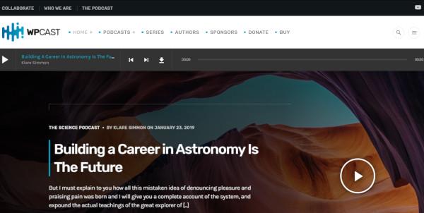 wpcast responsive wordpress theme