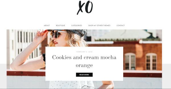 XO - MPS Styled Profile Widget WordPress Theme