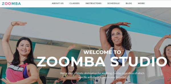 zoomba fully responsive wordpress theme