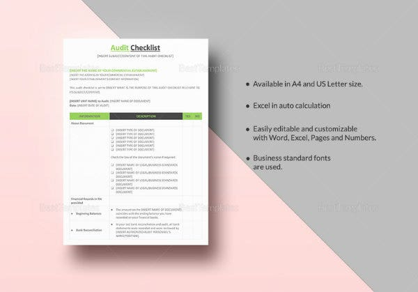audit checklist template quick guide 767x536