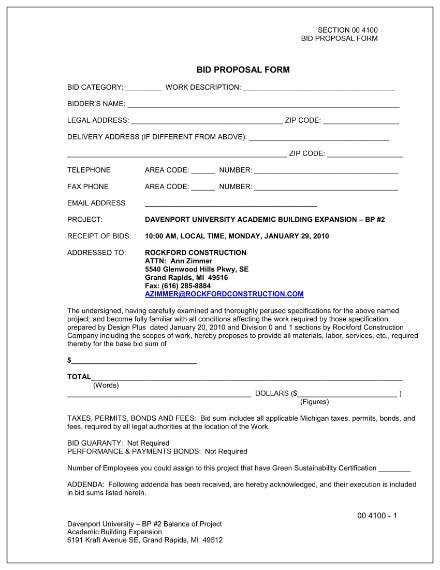 bid proposal form 01