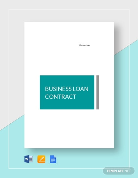 business loan contrac