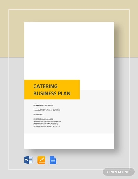 catering business description
