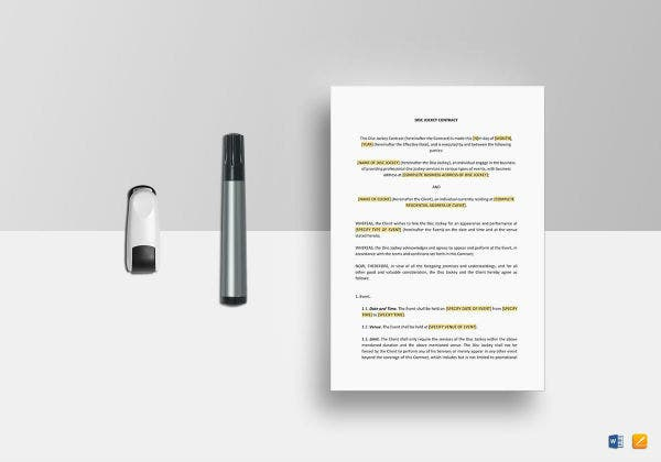 dj contract template mockup1