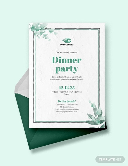 how to make a formal dinner invitation  7  templates