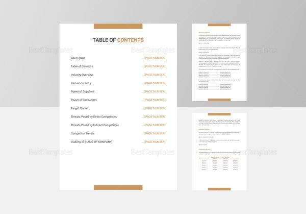 industry analysis template image1 767x536