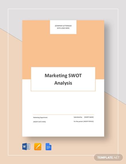 marketing swot analysis