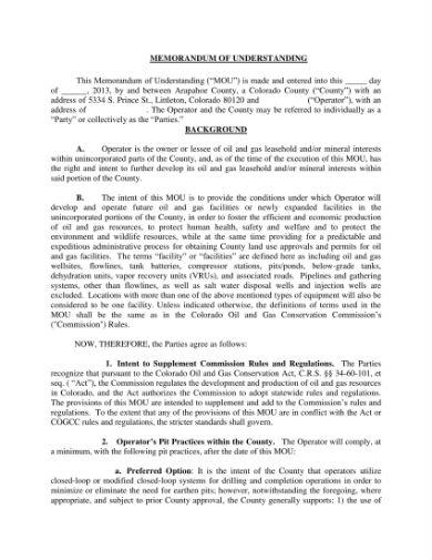 memorandum of understanding 01