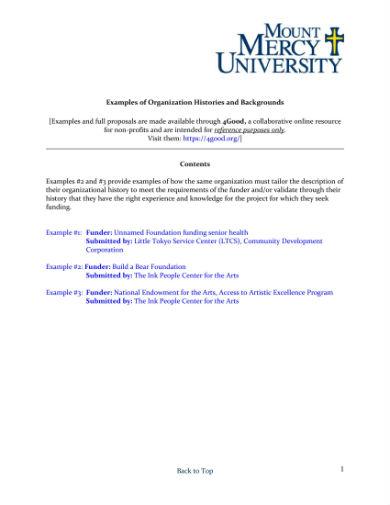 nonprofit proposal background 1