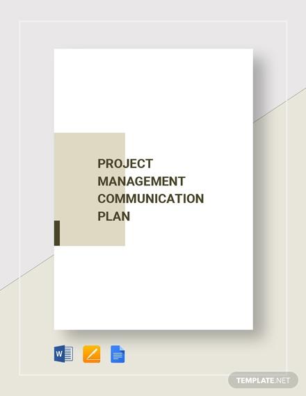 project management communication plan2