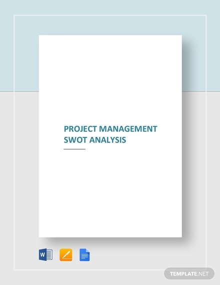 project management swot analysis