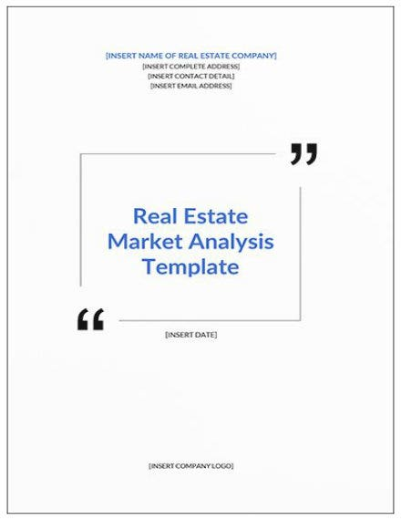 real estate market analysis template mockup11