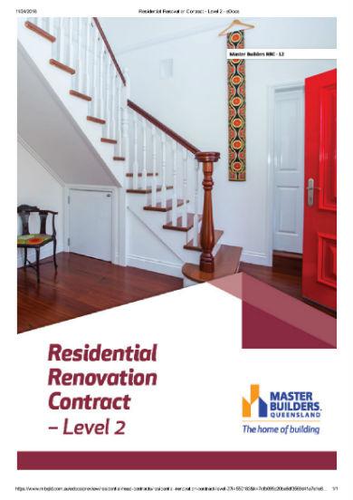 renovation contract 1