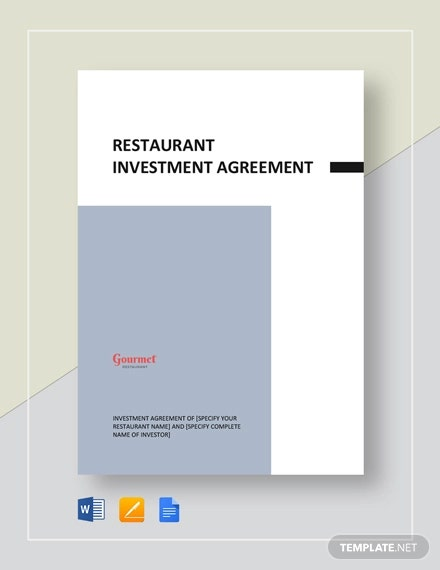 restaurant investment