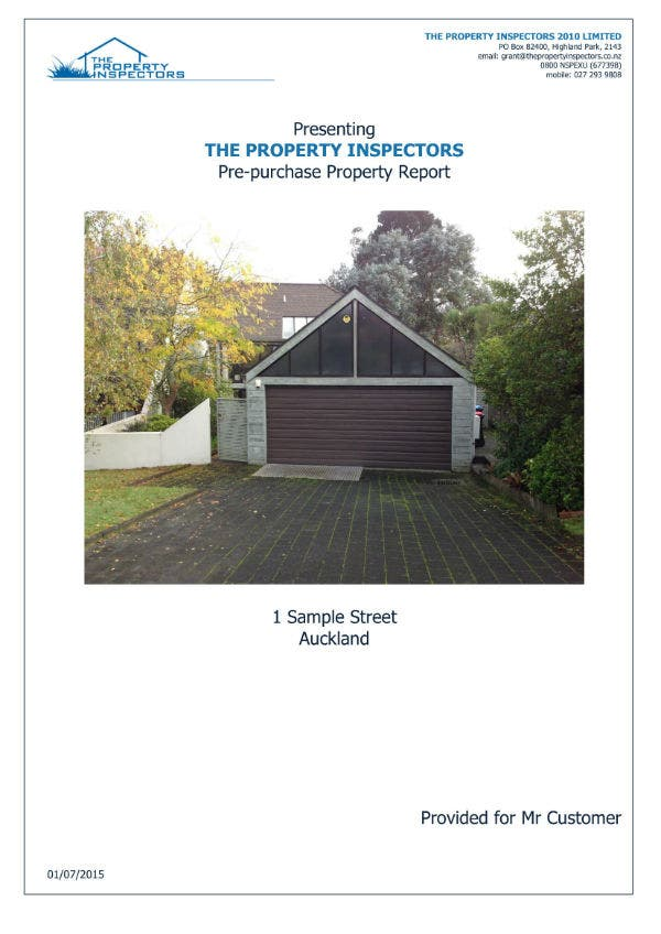 sample property inspection report 01