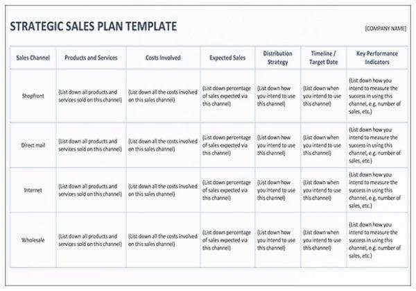 strategic sales plan template mock up1