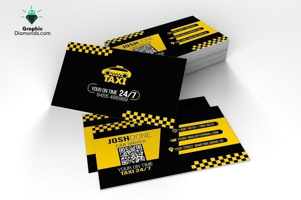 taxi business card social 2