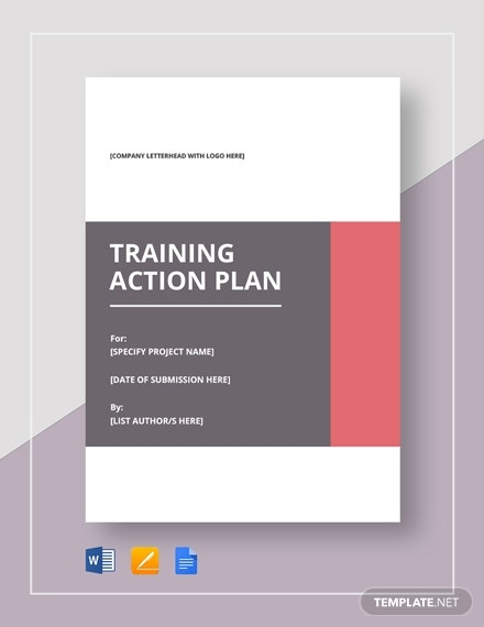 training action plan