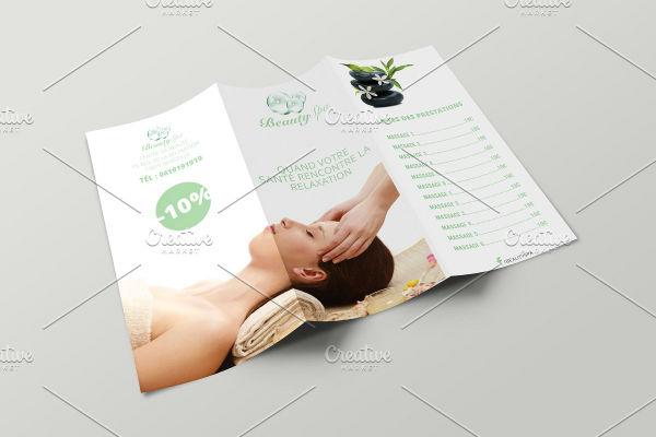 tri fold brochure mock up template outside 1