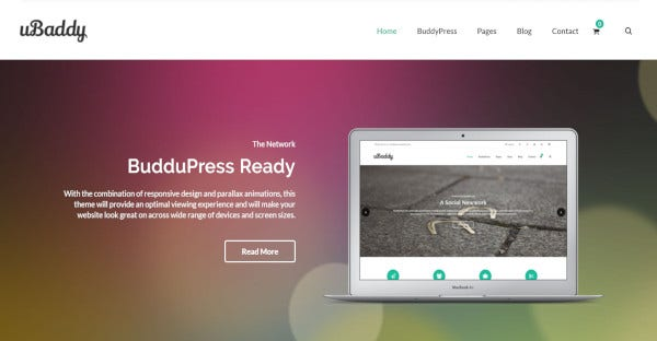 uBaddy - WPML WordPress Theme