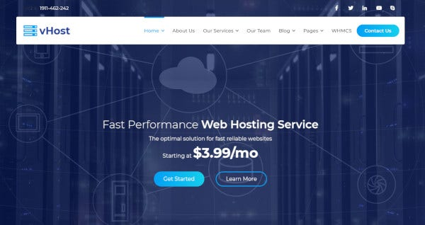 vhost-redux-framework-wordpress-theme
