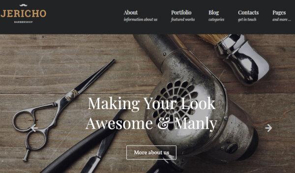 Jericho - Custom Widget Friendly WordPress Theme