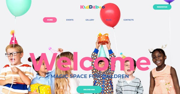 Kiddaboo – Animation Ready WordPress Theme