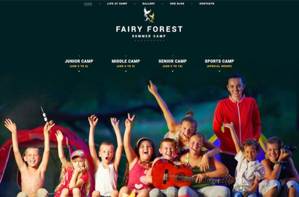 10 kids summer camps wordpress theme 51029
