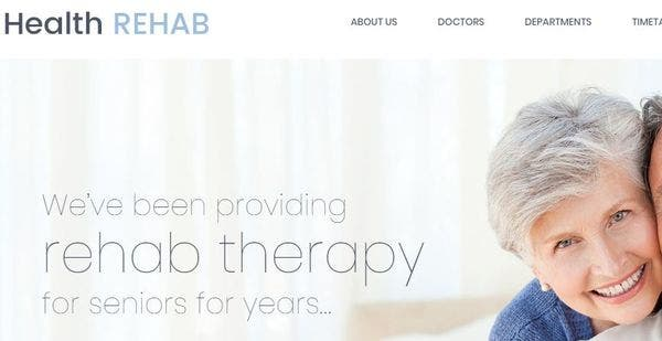 Rehabilitation Center – Cherry Services WordPress Theme