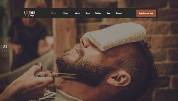 Barbee -Easily Customizable WordPress Theme