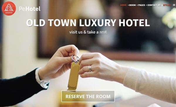 Hotel & Resort – Virtual Tour Enabled WordPress Theme