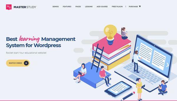 Masterstudy Education – Udemy Integrated WordPress Theme